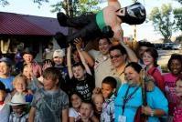Mario Lopez BIG HIT at Philmont Scout Ranch