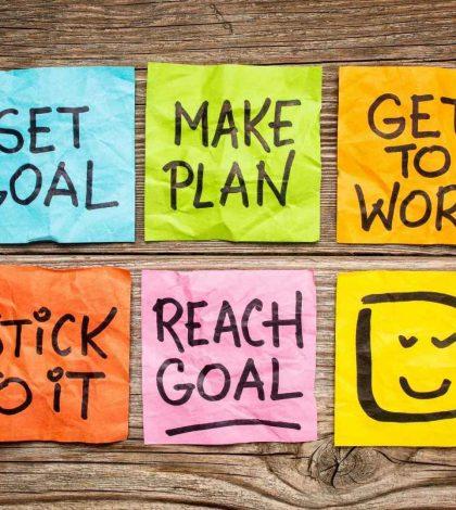 Avoid common mistakes when setting goals